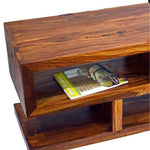 TimberTaste Sheesham Wood SLINE TV Cabinet Natural Teak finish.