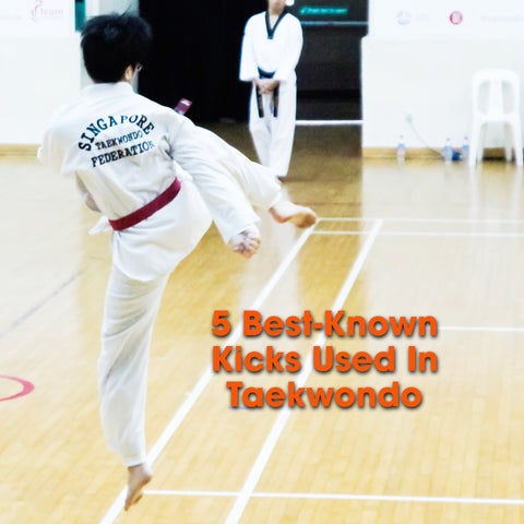 5 best-known kicks used in Taekwondo