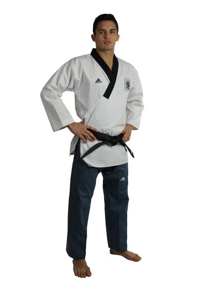 Adidas Poomsae Uniform (Male Dan) - knghub