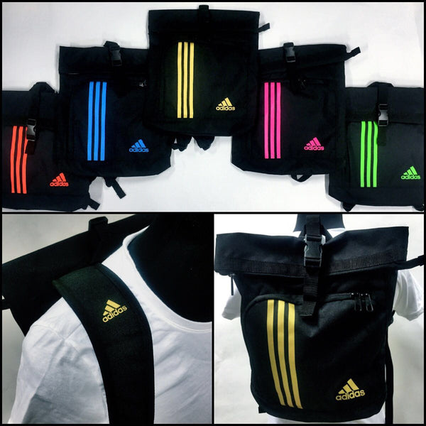 Adidas Training Military Sack - Solar Orange/Green/Blue/Pink/Gold - knghub
