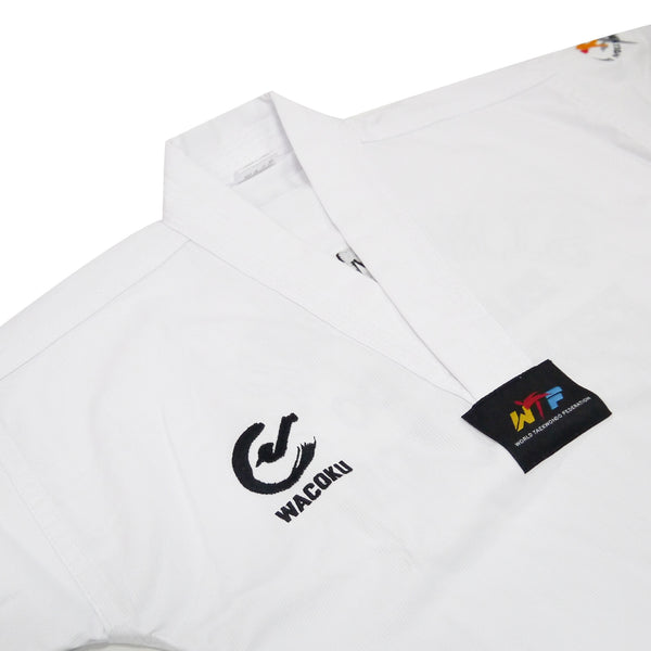Wacoku Basic Ribbed Uniform (White Collar) - knghub - 1