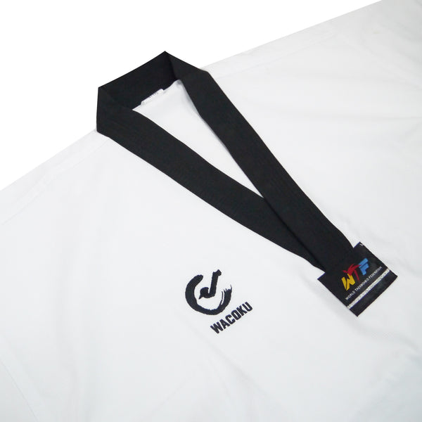 Wacoku Basic Ribbed Uniform (Black Collar) - knghub - 1