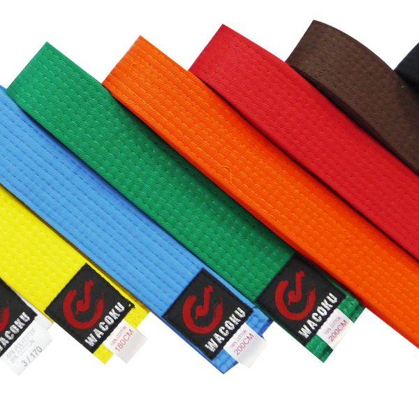 Wacoku Colour Belt (Single Round) - knghub - 1