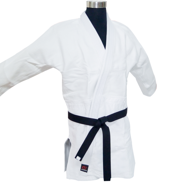 Wacoku JUDO Uniform 950GM (White) - knghub