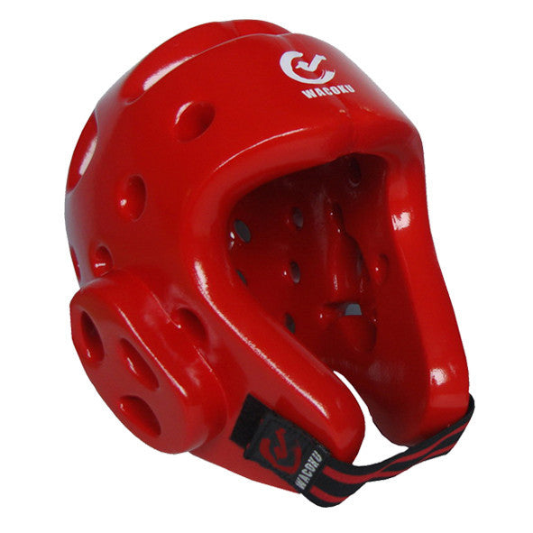 Wacoku Dipped Foam Headgear (Red/Blue) - knghub - 1