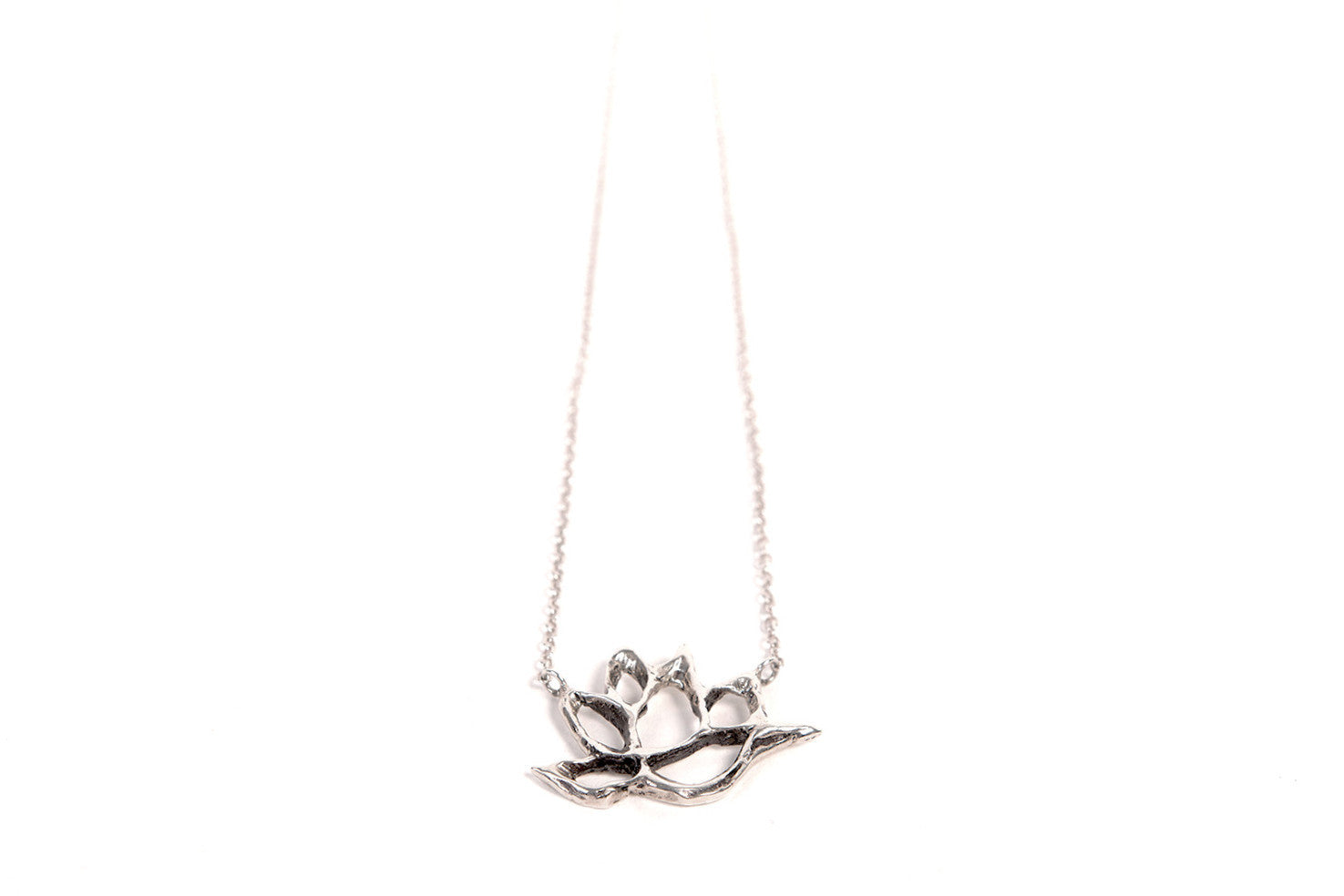 "Goddess Lotus 18"" Short Necklace"
