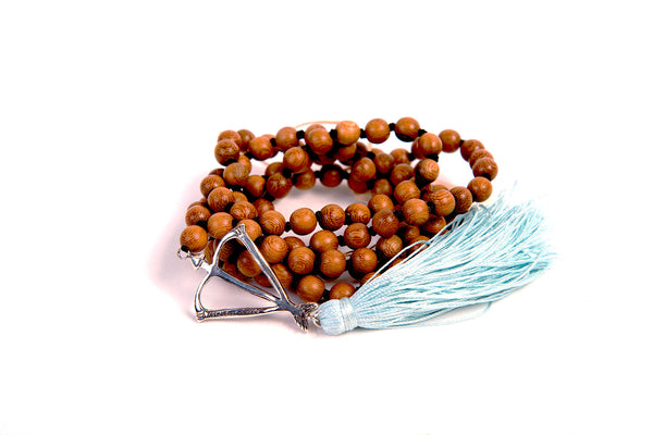 Open Heart Warrior Rosewood Healing 108 Mala