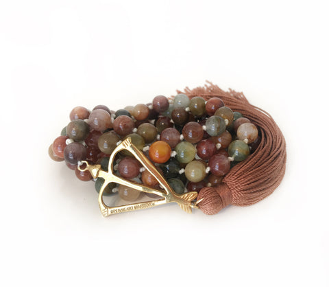NEW! Rutilated Quartz Energy Source 108 Mala