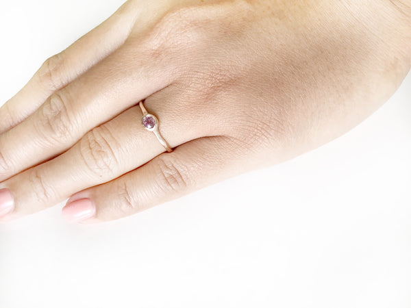 Multi-colored Sapphire Insight Ring / Stacking Rings