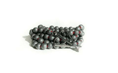 NEW! Men's Unisex Satin Hematite Grounding Earth Connection 108 Mala