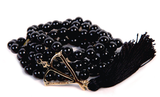 Open Heart Warrior Black Onyx Grounding 108 Mala