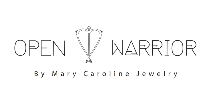 Open Heart Warrior by Mary Caroline Jewelry