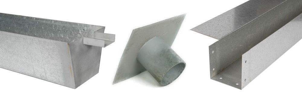 Galvanised Box Gutters