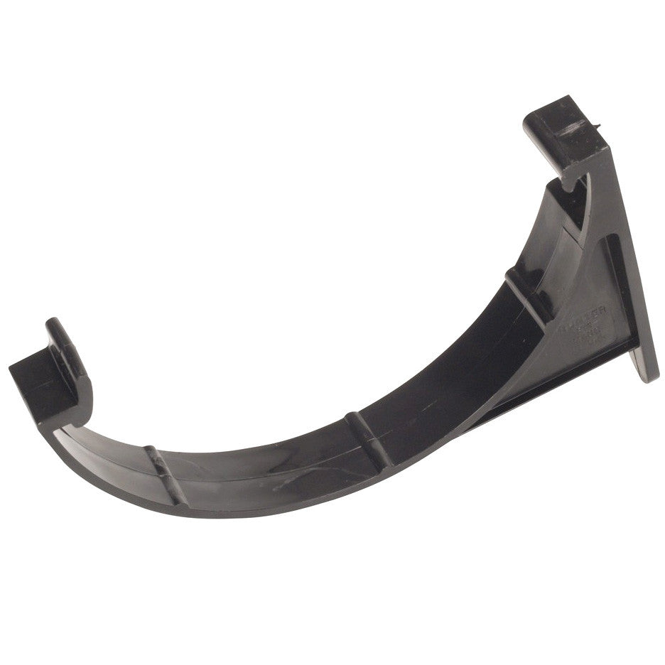 Hunter 112mm Black PVC Fascia Bracket