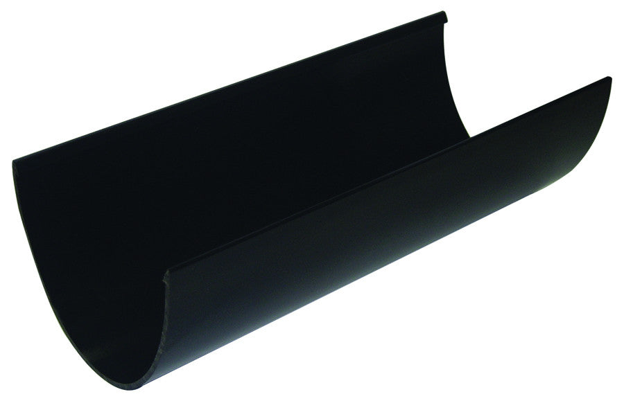 FloPlast Xtraflo 170mm Black PVC Gutter, 4.0m long