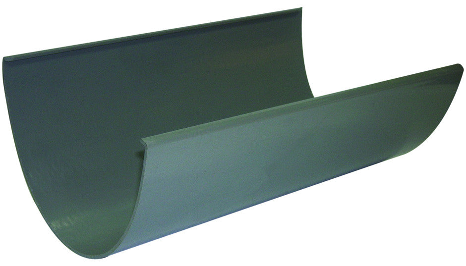 FloPlast Xtraflo 170mm Grey PVC Gutter, 4.0m long