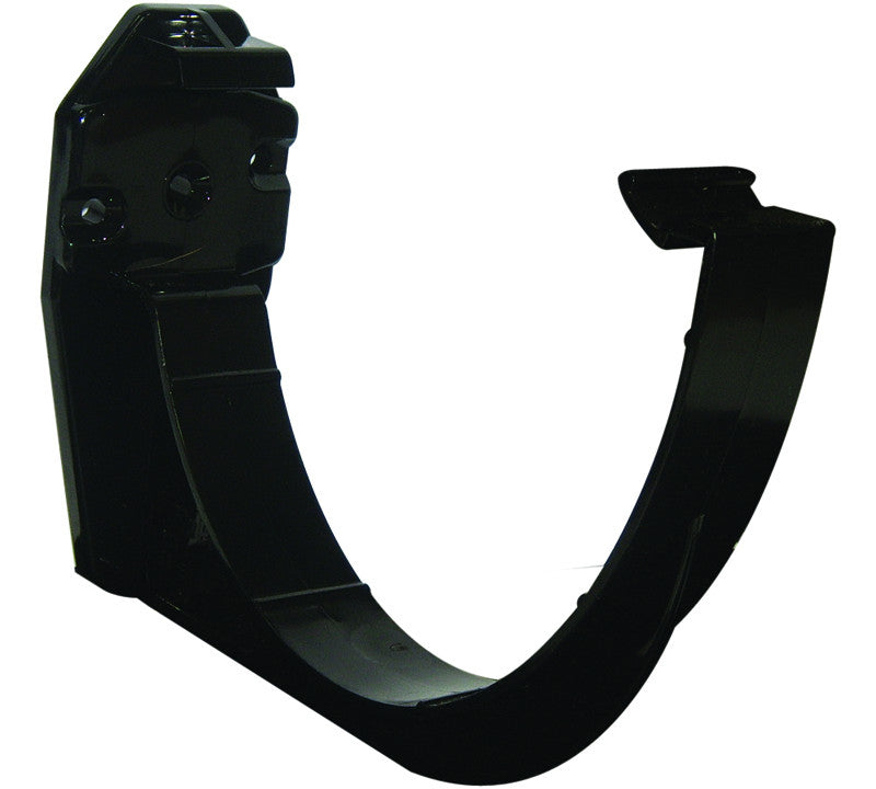 FloPlast Xtraflo 170mm Black PVC Fascia Support Bracket