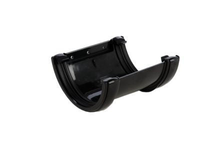 Hunter 112mm Black PVC Gutter Union Bracket