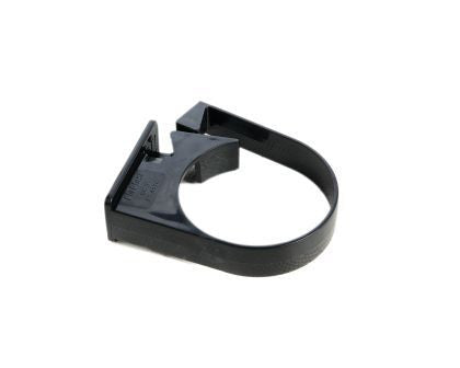 Hunter 68mm Black PVC Pipe Clip (Single Fix)