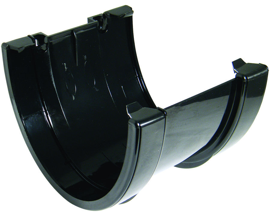 FloPlast Xtraflo 170mm Black Joiner / Union Bracket