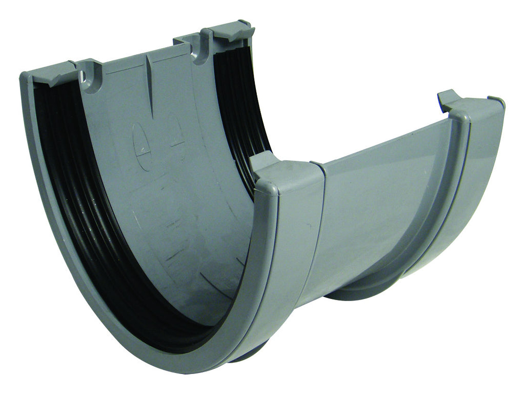FloPlast Xtraflo 170mm Grey Joiner / Union Bracket