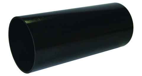 FloPlast Xtraflo 110mm Black PVC Plain Ended Pipe, 3m long