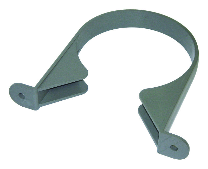 FloPlast Xtraflo 110mm Grey PVC Pipe Bracket
