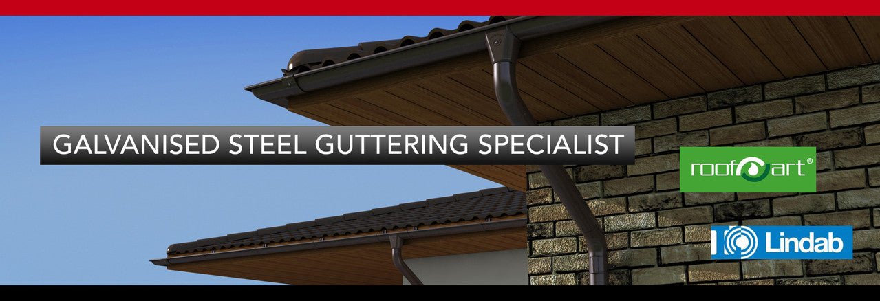 Galvanised Steel Guttering