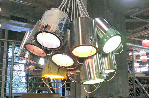 upcycled lights