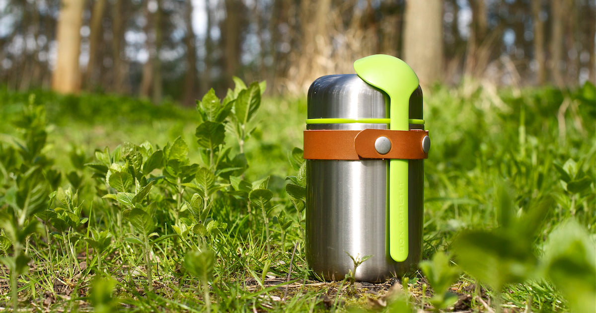 Food Flask in the woods by Black+Blum