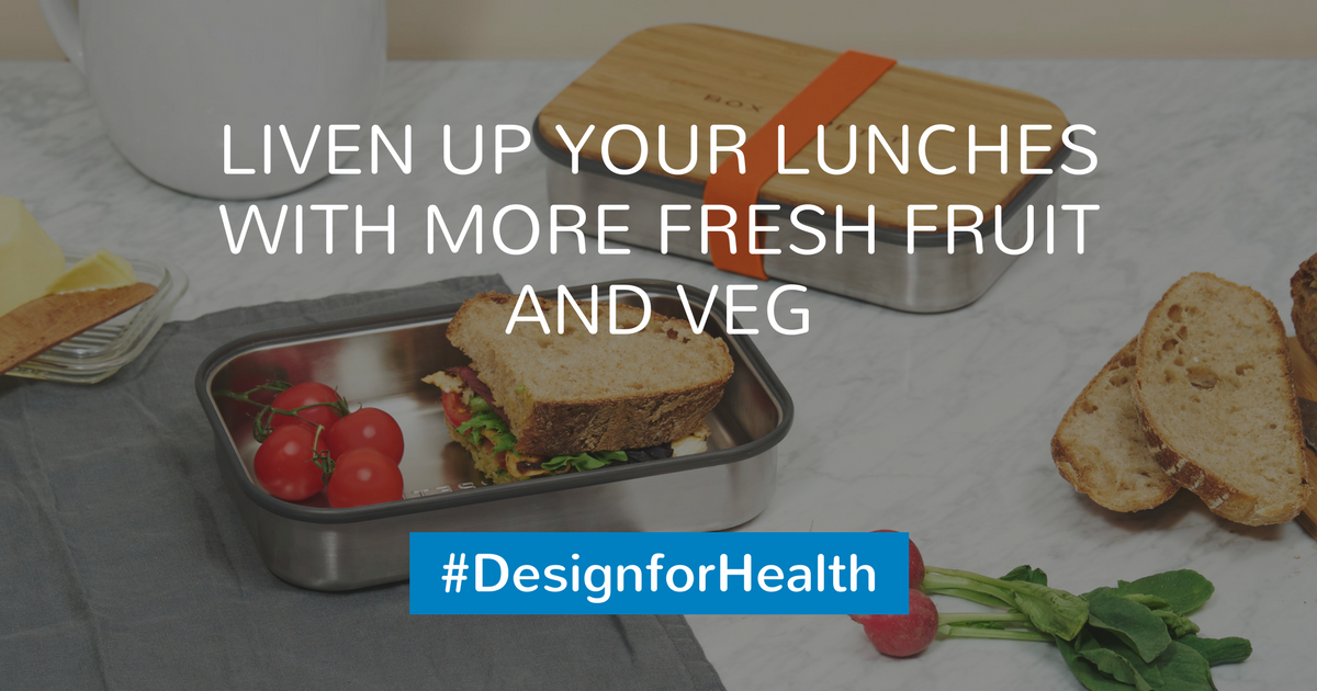 Liven up your lunches with more fruit and veg #DesignForHealth