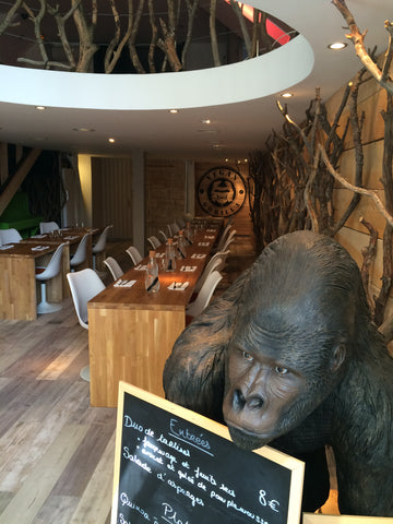 vegan gorilla, nice, france, vegan, restaurant