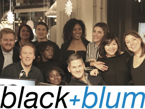 christmas party, black and blum