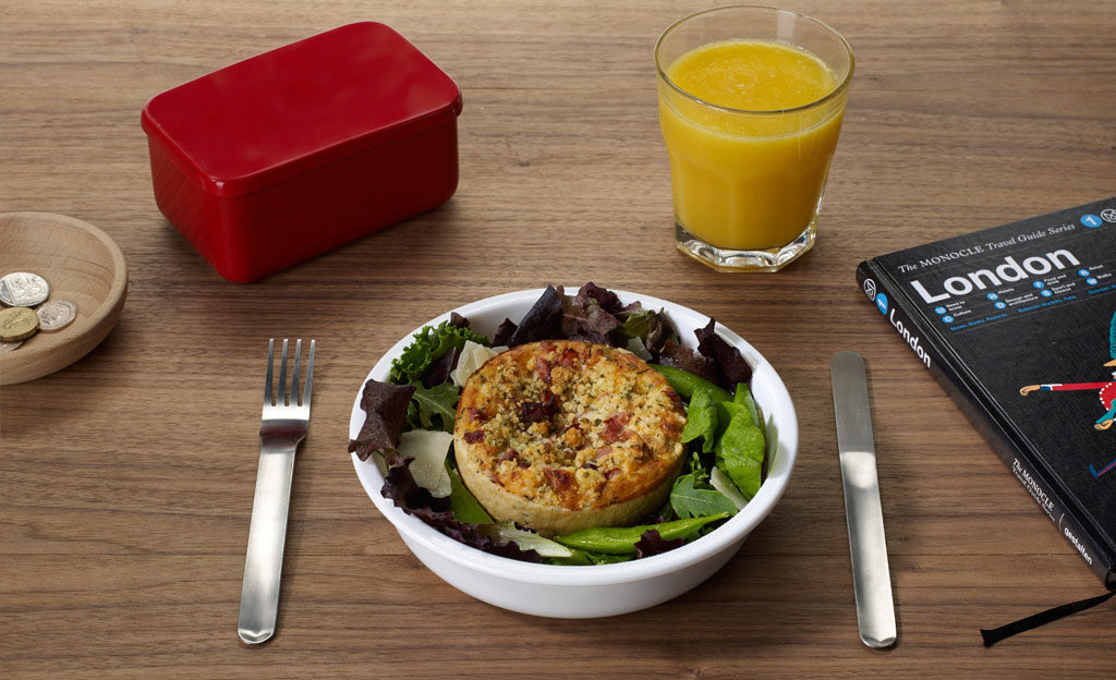 Black Blum Box Appetit Lunch Box Round
