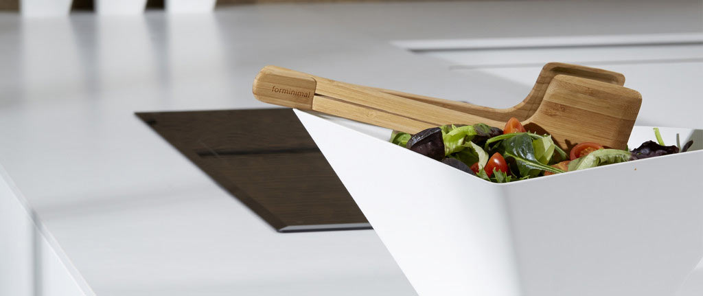 Black Blum Forminimal Salad Servers / Tongs