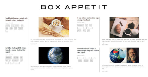box appetit, blogs