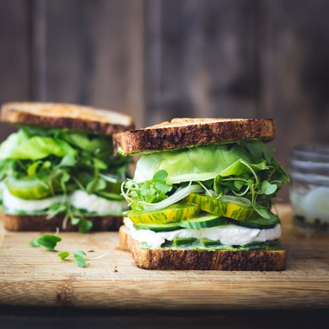 green goddess sarnie