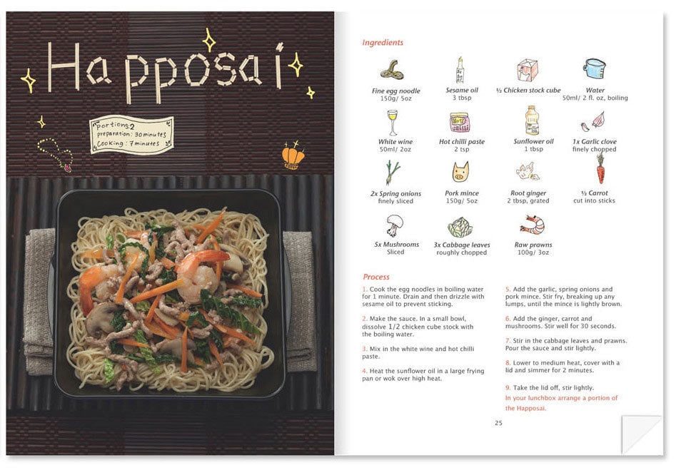 Lunch Box Noodle Recipe