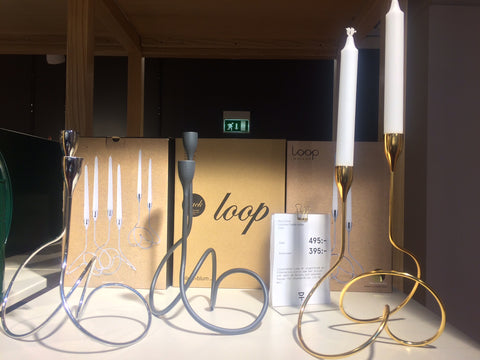 loop candelabra, black and blum, design, dan black