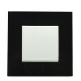 Black Glass Light Switch