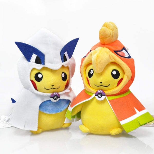 Pikachu Cosplay Ho-Oh Lugia Plush Soft  Doll