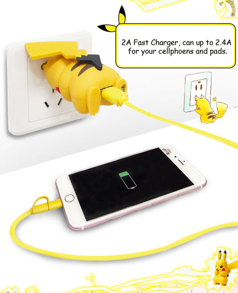 Fast USB Phone Charger EU Quick Travel Charge 2A