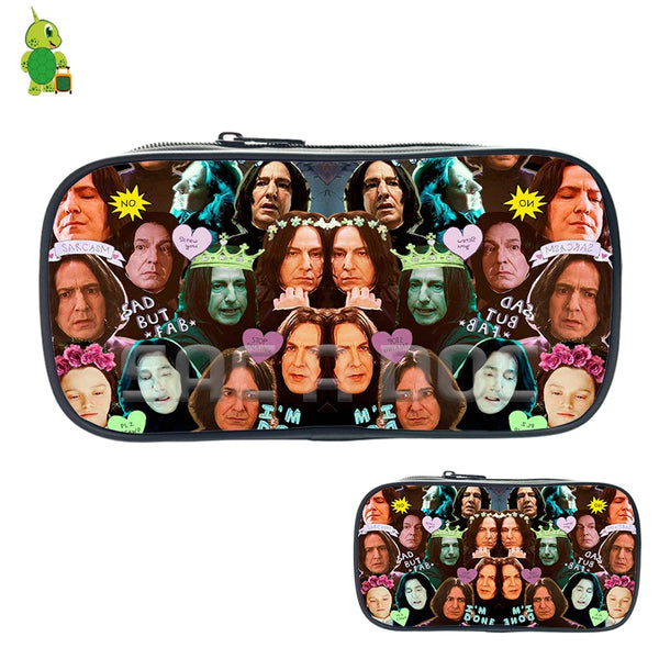 Harry Potter Severus Snape Collage Cosmetic Bags