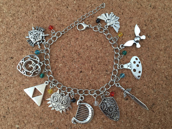 The Legend of Zelda Charm Bracelet (NEW!)