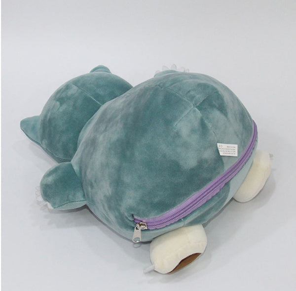 Ditto- Snorlax Inside-Out Cushion Plush Doll