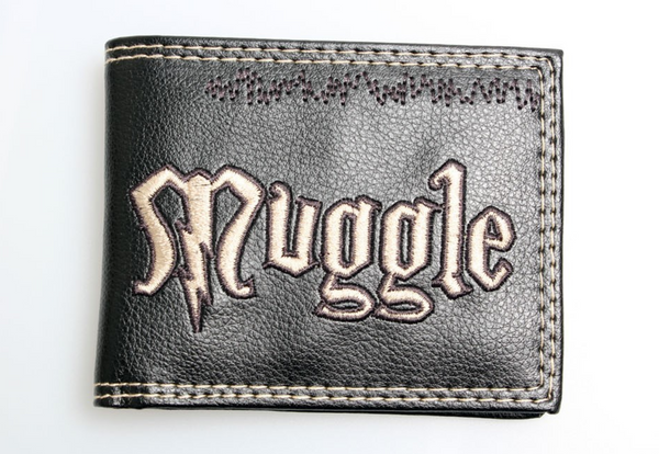 Harry Potter -- wallet muggle boys and girls purse
