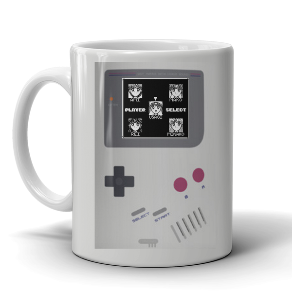 Nintendo Gameboy Sailor Moon Mug