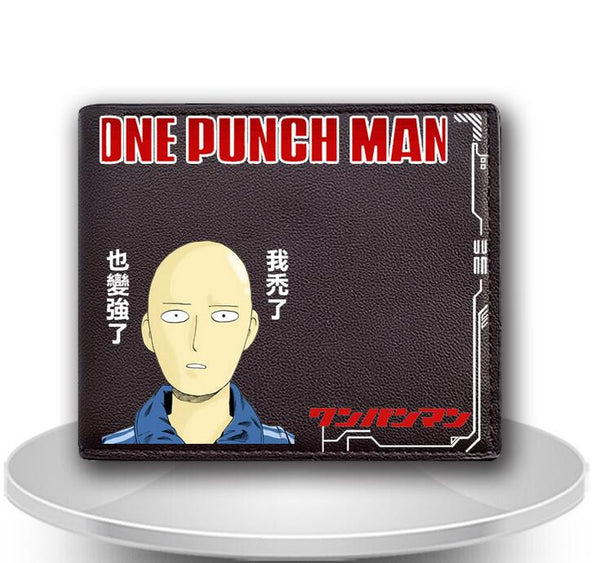 One Punch Man Short Leather Wallet Purse