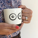 Boobie breastfeeding mug