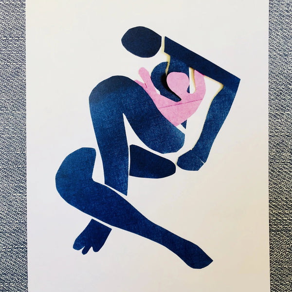 Breastfeeding Poster Print